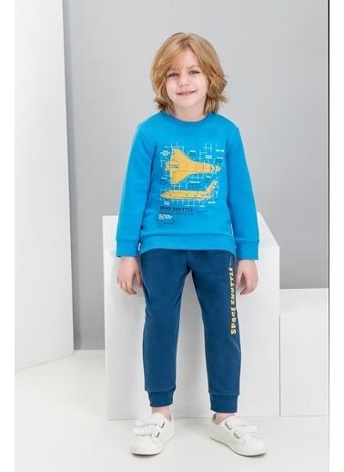 Roly Poly Rolypoly Space Shuttle Cobalt Mavi Erkek Çocuk Eşofman Takımı Mavi